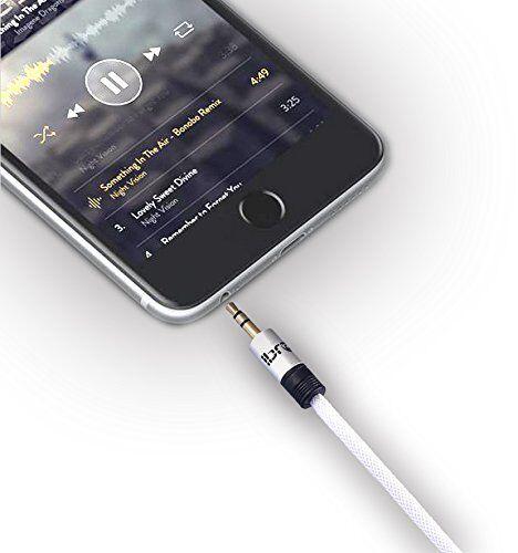 1.5M -3.5mm Jack Plug To Plug Male Audio Cable - Lead For Headphone/Aux/MP3/iPod