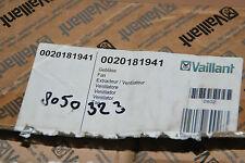 VAILLANT 0020181941 GEBLÄSE LÜFTER ecoTEC PRO 24 28 VUW 246 286 /5-3 FAN NEU