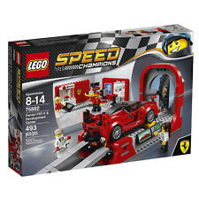 LEGO Speed Champions Ferrari FXX K & Development Center Set 75882