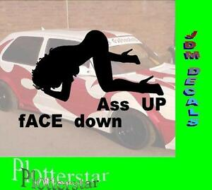 ass bitch up down Face