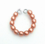 Dreamz-ORANGE-PEACH-Pearl-BRACELET-made-for-11-034-Barbie-Doll-Jewelry thumbnail 1