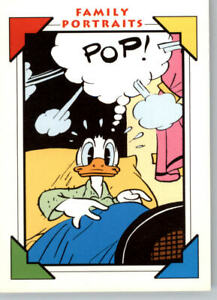 1991 Impel Family Portraits #160 Sunday Comic Strip Donald Duck