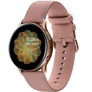 Samsung Galaxy Watch Cellular LTE Active2 SM-R835 40mm Gold Rose Smart Watches