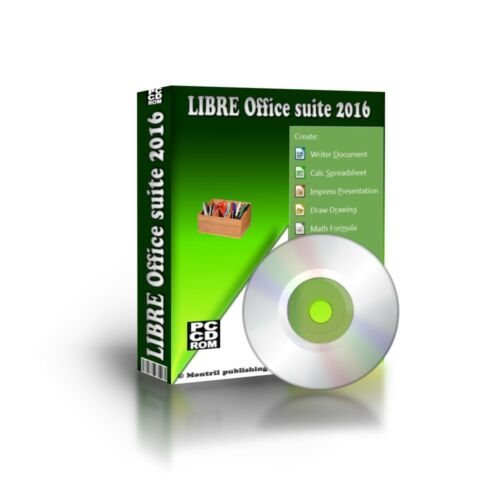 Libre Office Suite Full Version for PC w// Microsoft Windows 7 8 10 XP-2016 CD