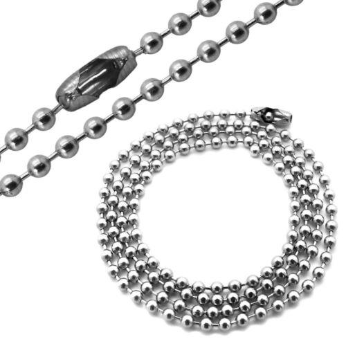 1 acero inoxidable collar cadena serpientes cadena bala cadena de anclaje para colgante Charm