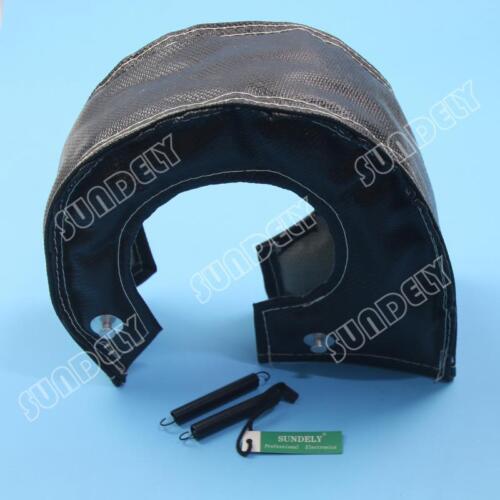 T4 T67 T71 T76 T88 GT40 GT45 Black Turbo Blanket Heat Shield Turbocharger Cover