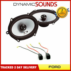 """Alpine 5"""" x 7"""" Front Door Speaker and Wiring Upgrade Kit for Ford Transit 06-12"""