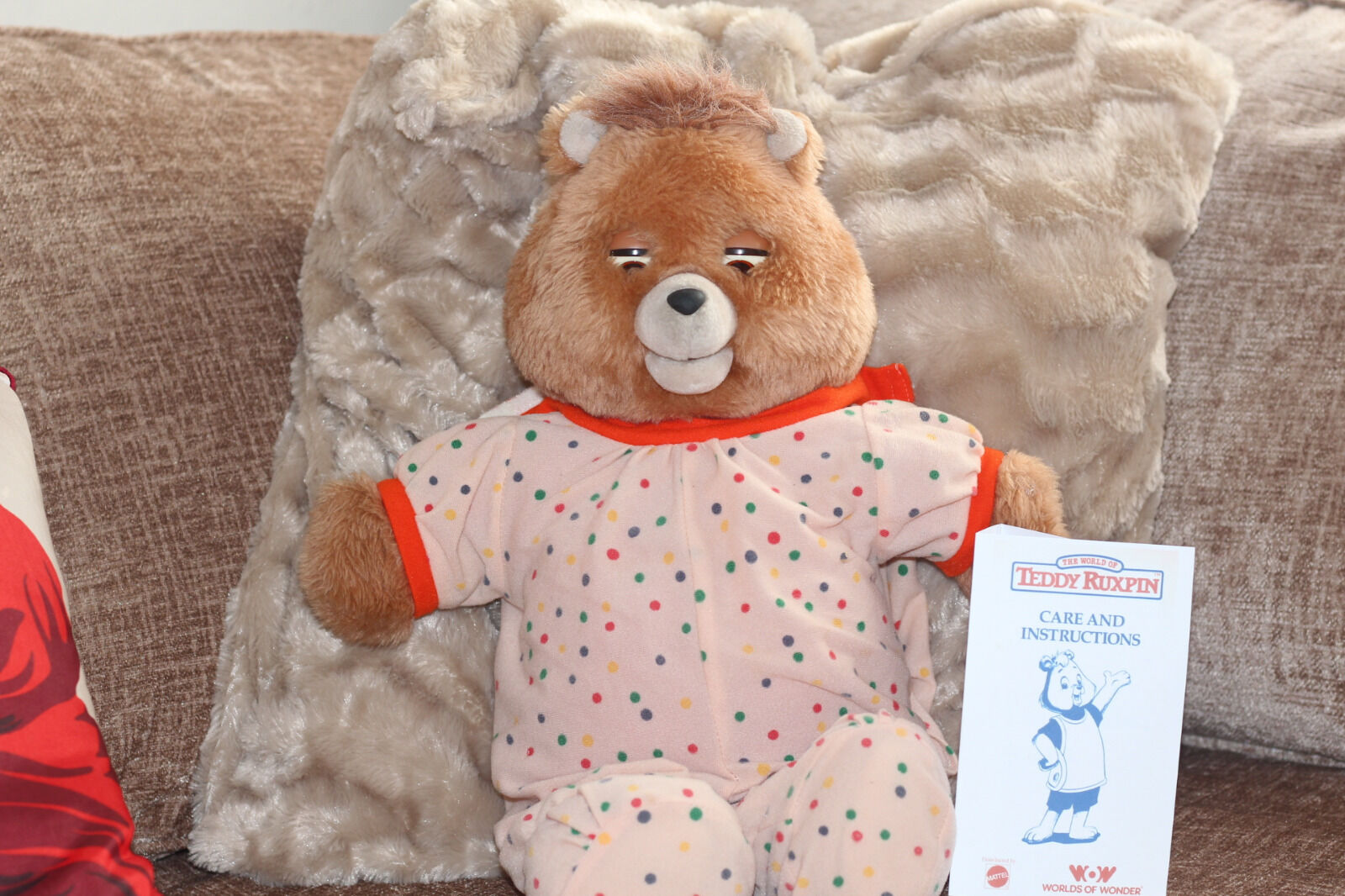 Teddy Ruxpin Sings Lullabies Perfect