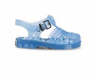 d3796db6567 Hugo Boss Kids J09095 77K Logo Boys Jelly Sandals Blue Girls Summer ...