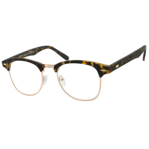 Men Women Geek Clear Lens Glasses Classic Vtg Browline 40s Celebrity Sunglasses