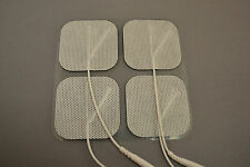 20 Electrode Pads EMS, Tens 7000, 3000- Units 2x2Inch White Cloth