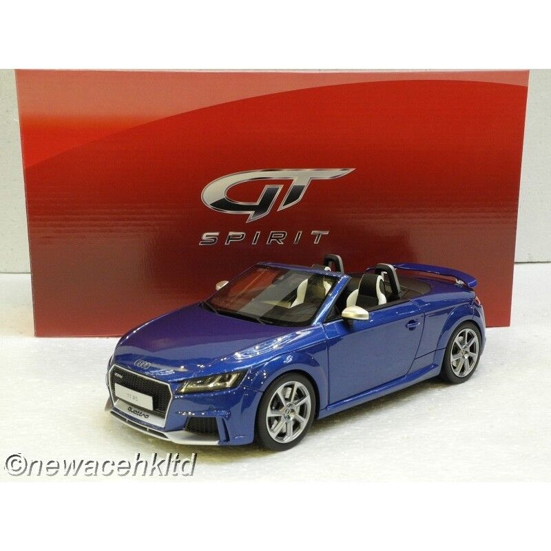 AUDI TT RS ROADSTER blu GT SPIRIT MODEL 1 18  GT209