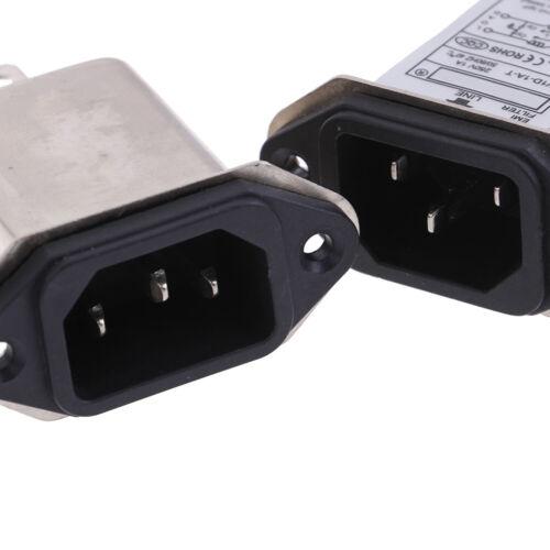 EMI RFI filter AC 250V 1A 3A 6A CW1D-1//3//6A-T suppressor power line noise fWLTE
