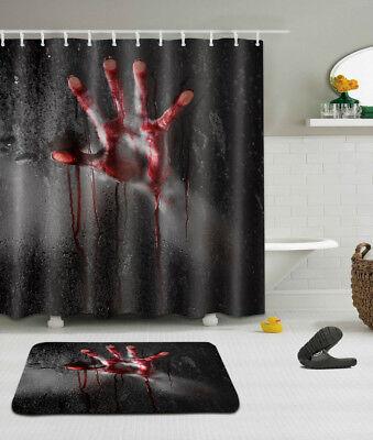 72x72/'/' Pokemon Ball Waterproof Fabric Shower Curtain 12 Hooks /& Bath Mat YL938
