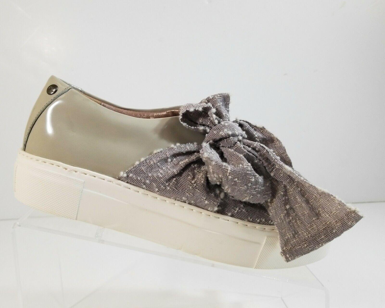 garantía de crédito Nueva Moda de Mujer Con Con Con Cordones gris AGI Charol Plataforma Arco zapatillas Talla 41  con 60% de descuento