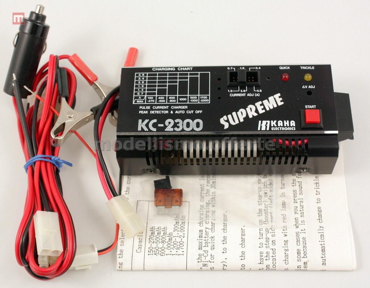 Supreme KC-2300 Cargadores bateria 4.8-12V Ni-Cd Vintage Cargador modelismo