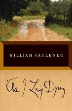 AS I LAY DYING The Corrected Text William Faulkner paperback book FREE SHIPPING