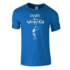 151f6cf30 Diary of a Wimpy Kid Snore T-shirt Blue Small 6/8 for sale online | eBay