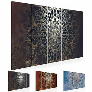 Details zu MANDALA ORIENT Wandbilder xxl designer Leinwand Bilder  Wohnzimmer p-A-0028-b-n