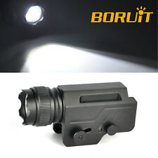 3000LM XM-L2 LED Tactical Gun Flashlight Rifle Mount Hunting Light Shotgun Torch