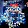Merry Christmas Snowflakes Removable Wall Art Decal Wall Sticker Window Decors