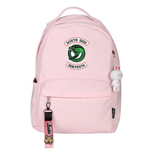 Riverdale Student School Shoulder Bag Cosplay Backpack Travel Laptop Rucksack
