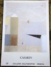 Mauro Casarin Galleria Multigraphic Venezia Vintage 1983 Limited Edition Poster
