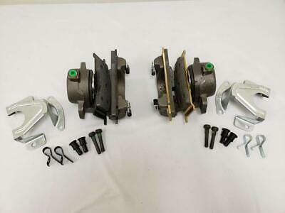 1968-1973 Ford Mustang Mercury Cougar Disc Brake Calipers Complete Loaded PAIR