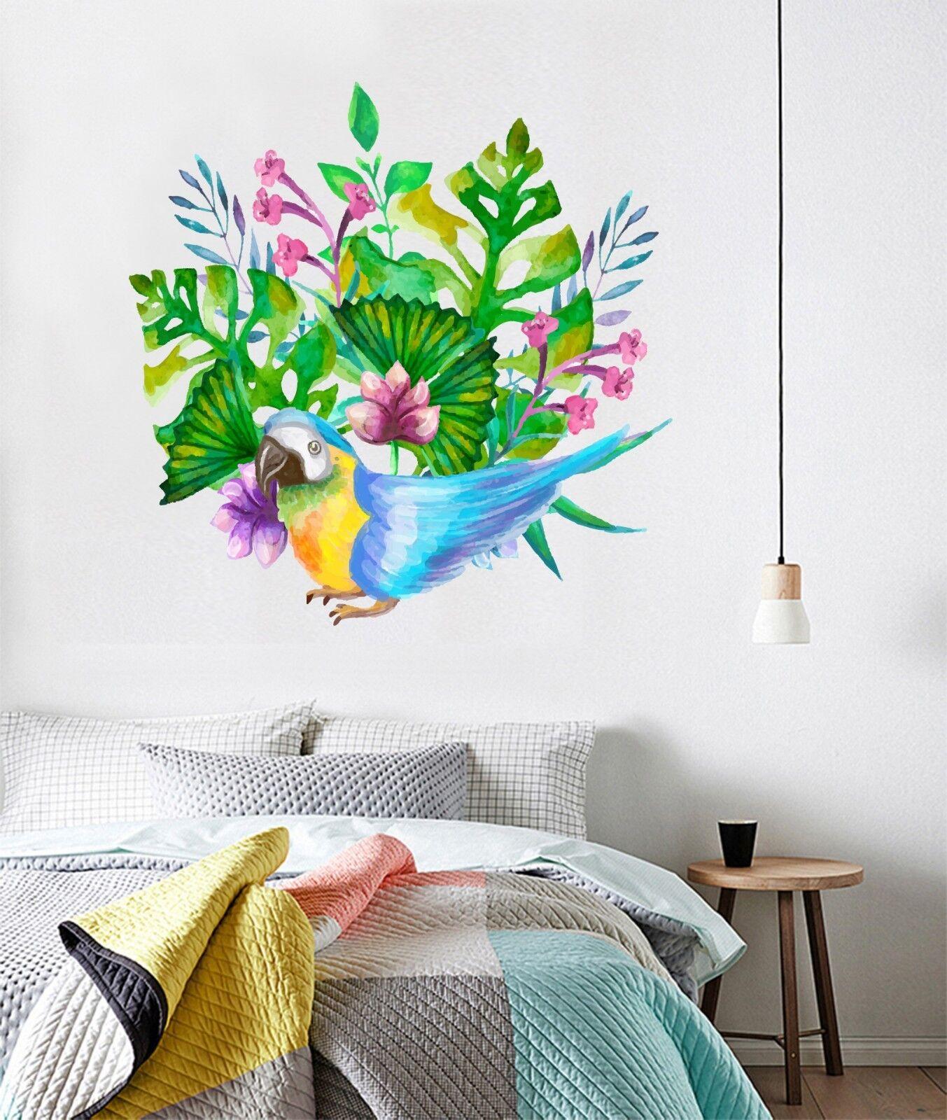 3D Bushes Birds 1002 Wallpaper Murals Floor Wall Print Wall Sticker AU Summer