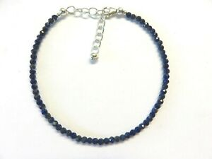 Lapis-Lazuli-facettiert-Armband-19-5-23-cm-925-Silber-Lapis-Bracelet-7050