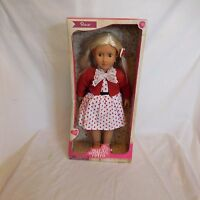 Our Generation Retro Rose 18 Doll In Box