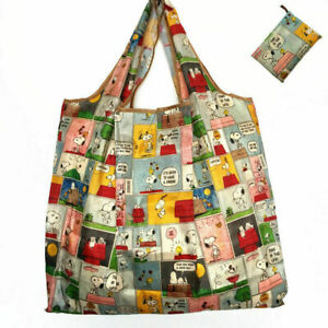 Cute-Snoopy-Foldable-Shopping-Bag-Eco-friendly-Large-Capacity-Durable-Reusable