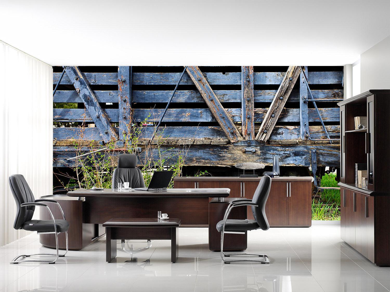 3D Retro Holz Zug 854 Tapete Wandgemälde Tapete Tapete Tapete Tapeten Bild Familie DE Summer  | Schnelle Lieferung  | Sonderaktionen zum Jahresende  | Schön geformt  0fb4f5