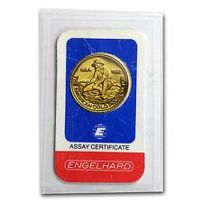 1/4 oz Gold Round - Engelhard (Prospector, In Assay) - SKu #62547