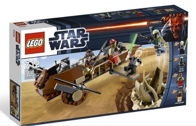 LEGO STAR STAR STAR WARS SET 9496 DESERT SKIFF DESCATALOGADO COLECCION NUEVO 10be25