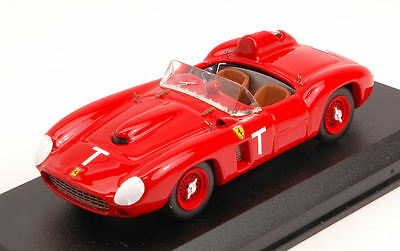 LiebenswüRdig Ferrari 290 S 't' Targa Florio Test 1958 L. Musso 1:43 Model 0348 Art-model Harmonische Farben