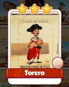 TORERO-Coin-Master-Carta-Especial-Muy-dificil-de-conseguir