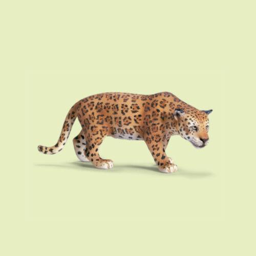 """/""""Jaguar/"""" 14359 Wild Life #schleich nuevo con una banderita-New with día!!!"""