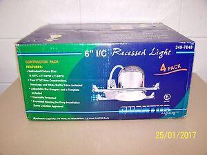 Image is loading OUANTUS-LIGHTING-6-034-I-C-Recessed-Lights-w- & OUANTUS LIGHTING 6