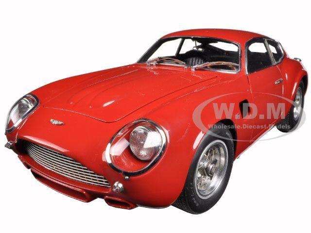 1961 ASTON MARTIN DB4 GT ZAGATO rosso 1/18 DIECAST CAR LIMITED TO 1000PC CMC 146