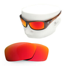 cb8a181b302 Oowlit Replacement Sunglass Lenses For-oakley Hijinx Polarized - Fire Red  Mirror