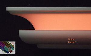 Stuckleiste-Stuckprofil-Zierprofil-Stuck-100mmx100-mm-26-Meter-LED-Dekor-034-Tamme-034