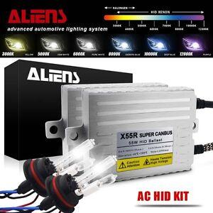 Aliens-55W-9007-9004-HID-Kit-High-Low-Hi-Lo-Beam-Xenon-Bulbs-amp-Ballasts