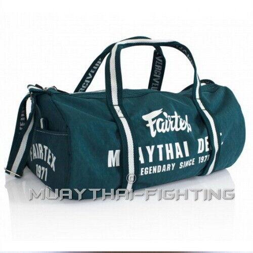 Fairtex Muay Thai Kick Boxing K1 Equipment Gym Bag Back Pack
