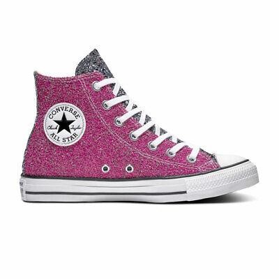 Converse Sneaker High Chuck Taylor All Star Glitter Hi Pink