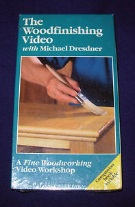 The-Fine-Woodworking-The-Woodfinishing-Video-VHS-tape-1992-Michael-Dresdner