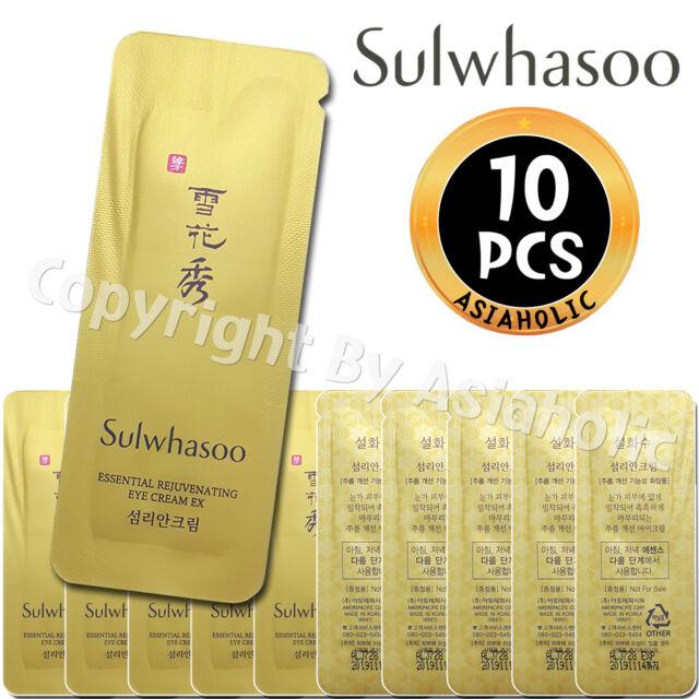 Sulwhasoo Essential Rejuvenating Eye Cream EX 1ml x 10pcs (10ml) Sample Newist