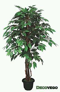 kunstpflanze ficus 110cm kunstblume k nstliche pflanze blume benjamin birke gr n. Black Bedroom Furniture Sets. Home Design Ideas