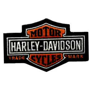 HD-Patch-Long-Bar-amp-Shield-SM-Harley-Davidson-Aufnaher-Badge-Kutte