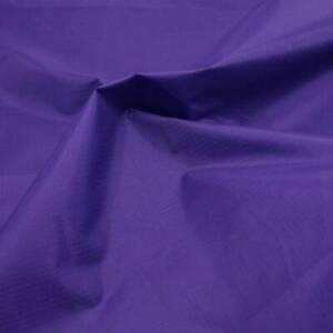 Purple Waterproof Rip Stop Ripstop Fabric Kite Nylon Material Cover 150cm Wide